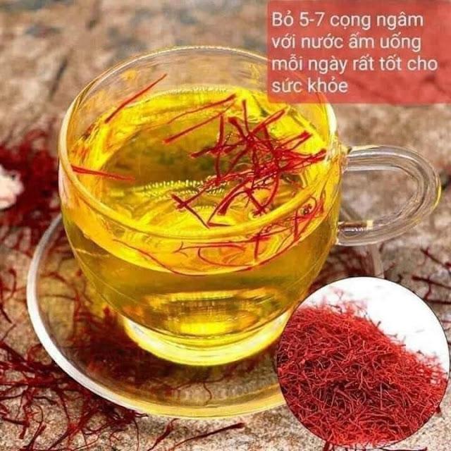 Nhụy hoa nghệ tây Bahraman Saffron Super Negin của Iran