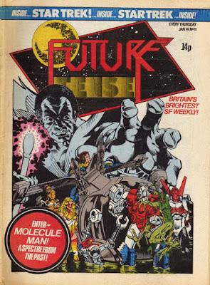 Future Tense #11, Micronauts vs Molecule Man
