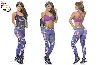 ropa deportiva Claudia Quintero