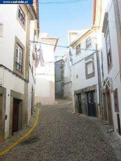Rua Mouzinho da Silveira de Castelo de Vide, Portugal (street)