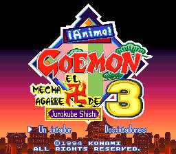 goemon 3 español parche