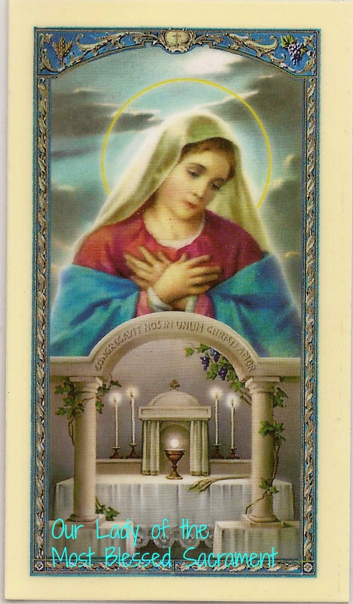 Nonnie's Observations: Mondays With Mary: Our Lady Of The