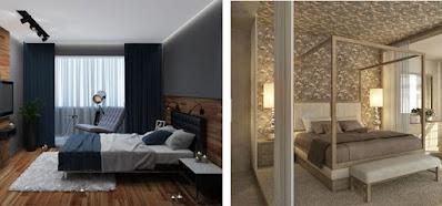 Desain kamar tidur untuk pasangan suami istri