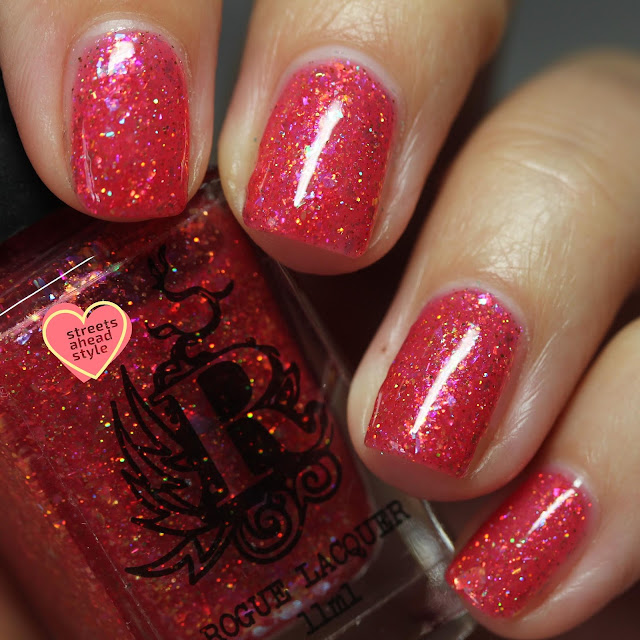 Rogue Lacquer Shell Yeah swatch by Streets Ahead Style