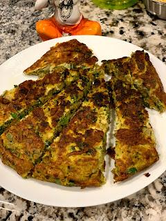 vegetarian omlette healthy cooking breakfast