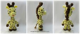 crochet giraffe tail