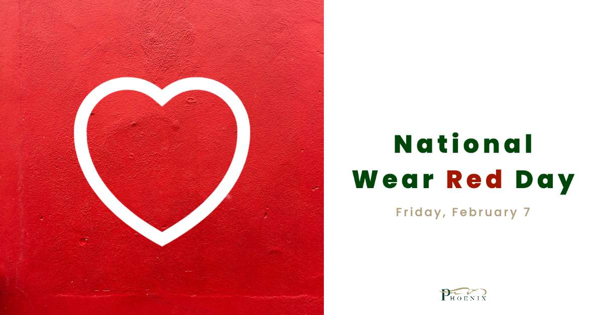 National Wear Red Day Wishes Awesome Images, Pictures, Photos, Wallpapers