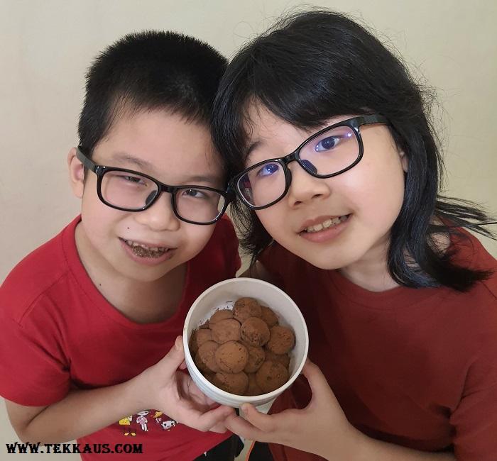 Chocolate Truffles & Chocolate Chip Ice Cream
