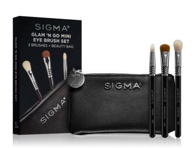Sigma Beauty Glam N Go Set de brochas para ojos