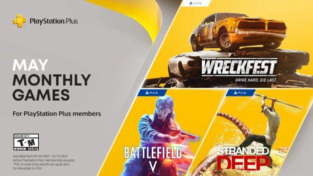 [PS Plus]: Διαθέσιμα τα δωρεάν παιχνίδια Μαΐου με Battlefield V και δύο ακόμη τίτλους