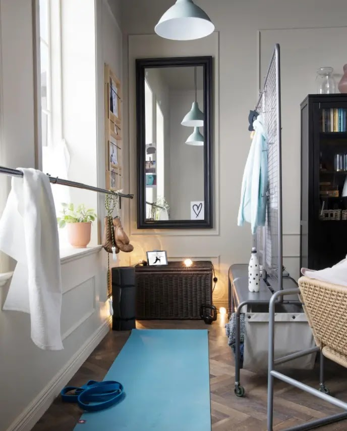 Cómo montar un pequeño gimnasio en casa económico y funcional