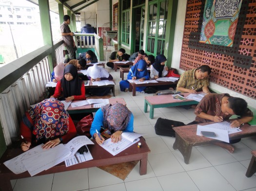 kursus kaligrafi lemka