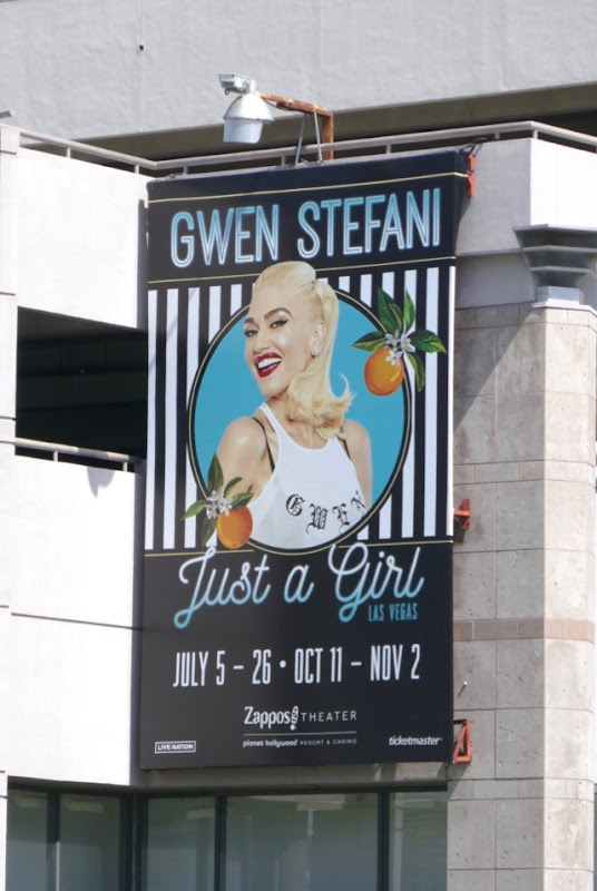 Gwen Stefani Just a Girl Vegas billboard