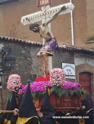 Señor de la Tercera Orden in Pátzcuaro during the Easter Season