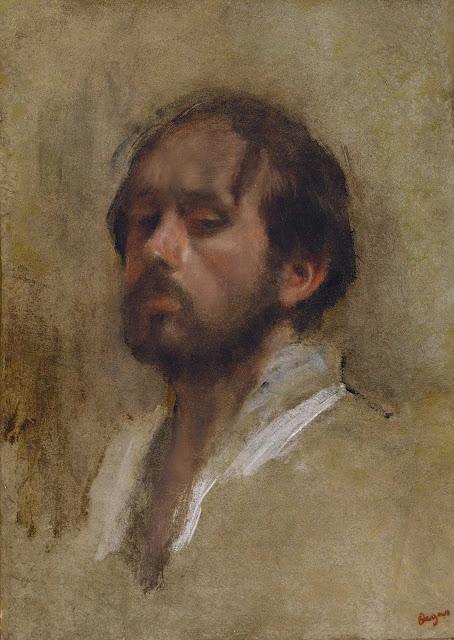 Эдгар Дега - Автопортрет (ок.1862)