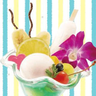 フルーツ満載!トロピカルパフェ(2019夏)