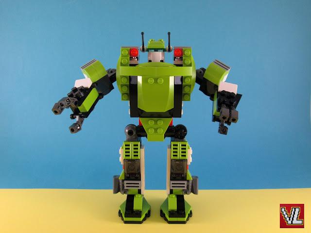 Set LEGO Creator 31007 Power Mech
