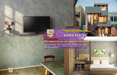 Jasa Pengecatan Semen Ekspos Tangerang - Kontak 081281120834