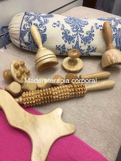 Utensilios de Maderoterapia corporal
