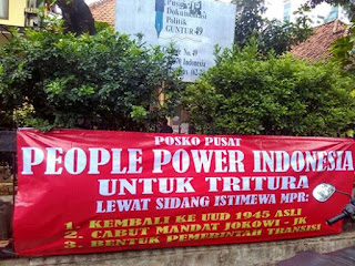 Tritura People Power Indonesia