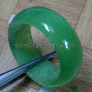 Cincin Batu Giok Jadeite Jade - ZP 1046