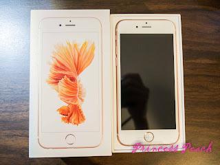 iPhone6s-開箱