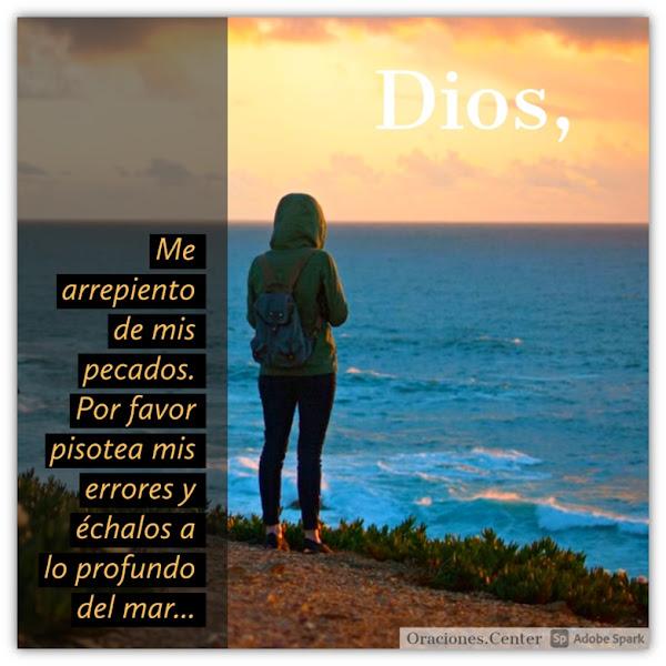 Oración Pidiendo Perdón a Dios