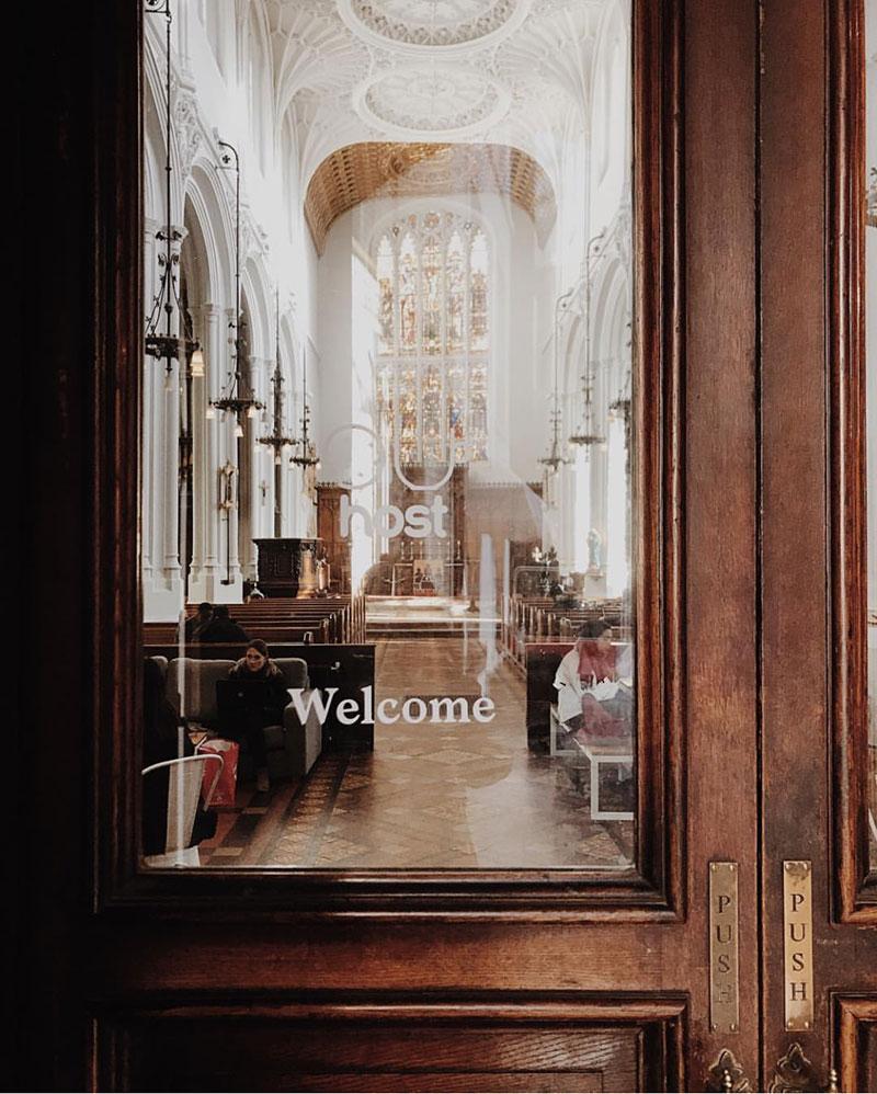Travel Inspiration | Places: Host Café, London