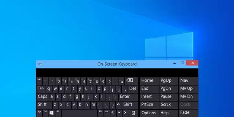 Cara Mengaktifkan On-Screen Keyboard Widows 10