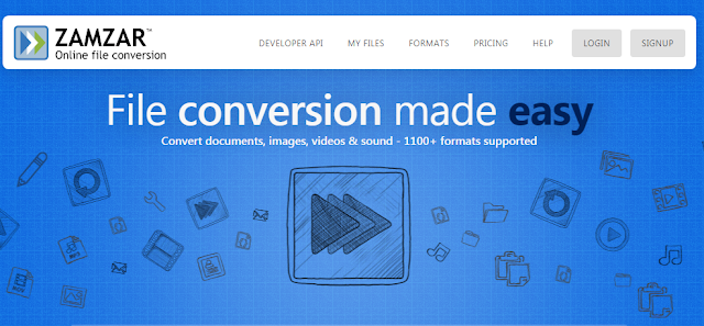 zamzar online convertion