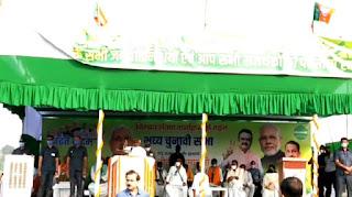 सारण में चुनावी सभा में नीतीश कुमार ने खोया आपा, कहा- वोट नहीं देना है तो मत दो लेकिन हंगामा मत करो
