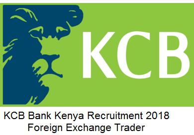 KCB Bank Kenya Recruitment Foreign Exchange Trader