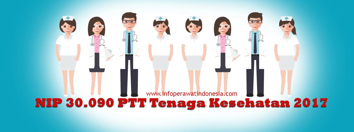Penetapan NIP (Nomor Induk Pegawai) 39.090 PTT Tenaga Kesehatan Oleh Pemerintah