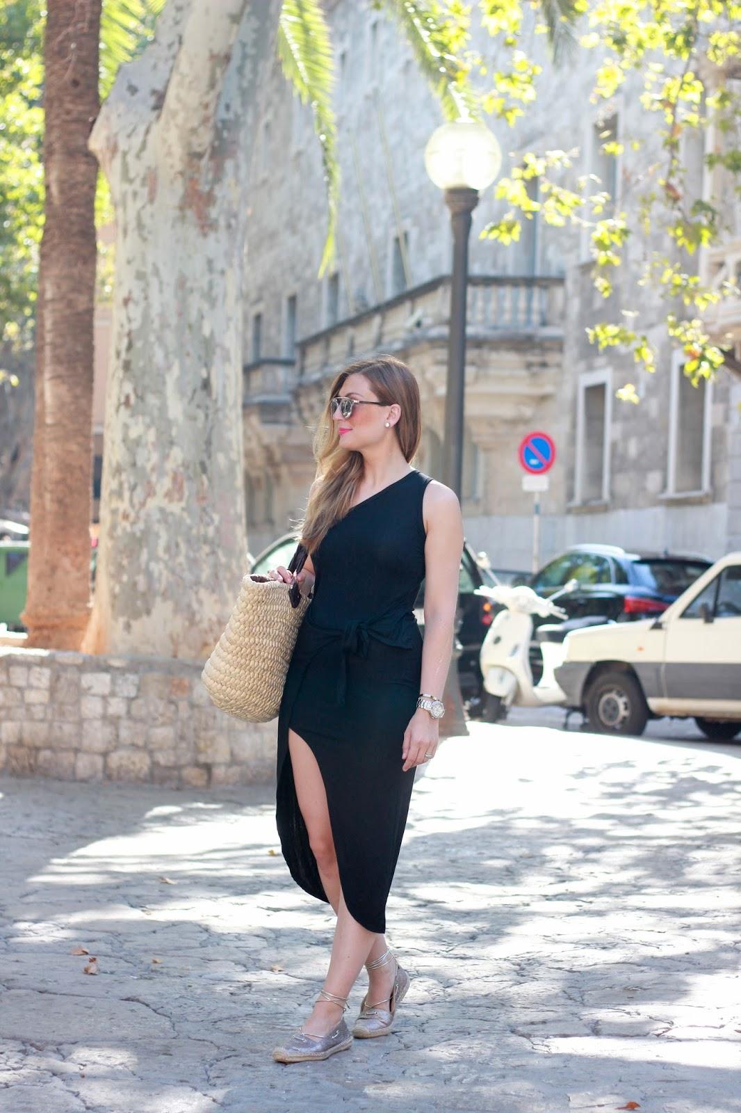Fashionstylebyjohanna - Fashionblogger aus Frankfurt - Schwarzes Kleid Blogger - Must Have für den Sommer