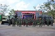 Kunjungi Yonzipur 6/SD, Pangdam XII/TPR : Prajurit Zeni Harus Berkreasi dan Inovatif