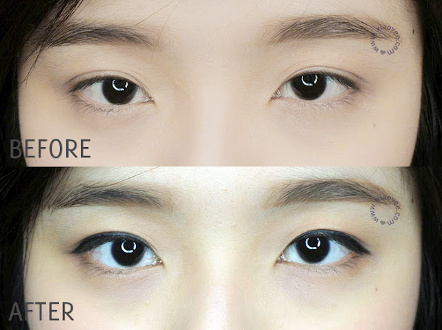 Dejavu Lasting Fine Eyeliner Review, Dejavu Fiberwig Mascara Review, Dejavu Japan Cosmetic Review, Review Dejavu Bahasa Indonesia, Xiao Vee, Shelviana Handoko Blogger