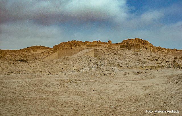 Sítio Arqueológico de Pachacamac - Lima - Peru