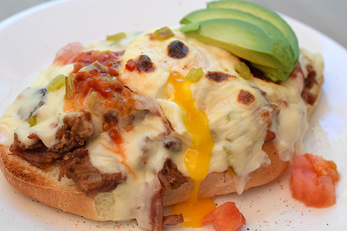 Great open faced sandwich for brunch or breakfast