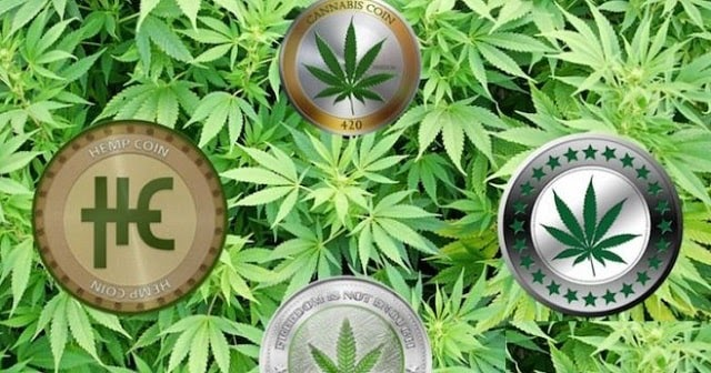 cryptocurrency cannabis coins
