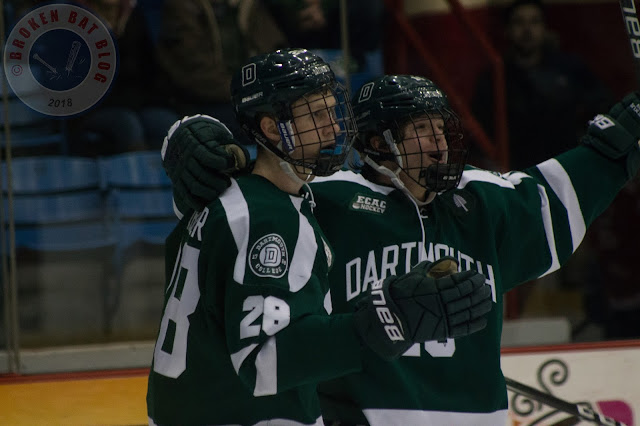 College Hockey Photos: Dartmouth College Big Green @ RPI Engineers, February 9, 2018, Houston Field House in Troy, NY.