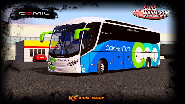 COMIL 1200 4X2 - VIAÇÃO COMPERTUR TRANSPORTES TURÍSTICO