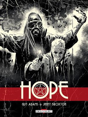 """couverture de """"HOPE"""" de Guy Adams et Jimmy Broxton"""