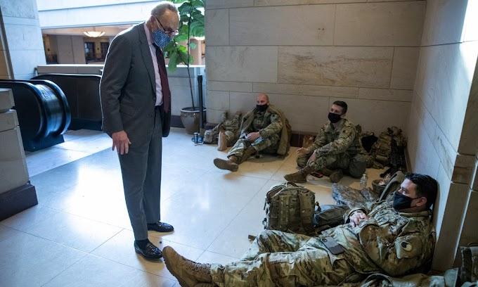 Ötször annyi katona biztosította Biden beiktatási ünnepségét, mint amennyien az afganisztáni kivonulást