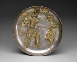 Sasanian royal gifts of silver