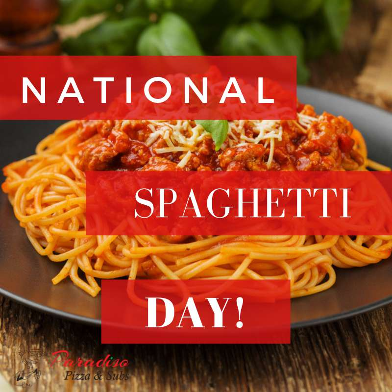 National Spaghetti Day Wishes Awesome Picture
