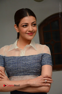 Actress Kajal Agarwal Latest Stills at Khaidi No 150 Movie Interview  0126.JPG