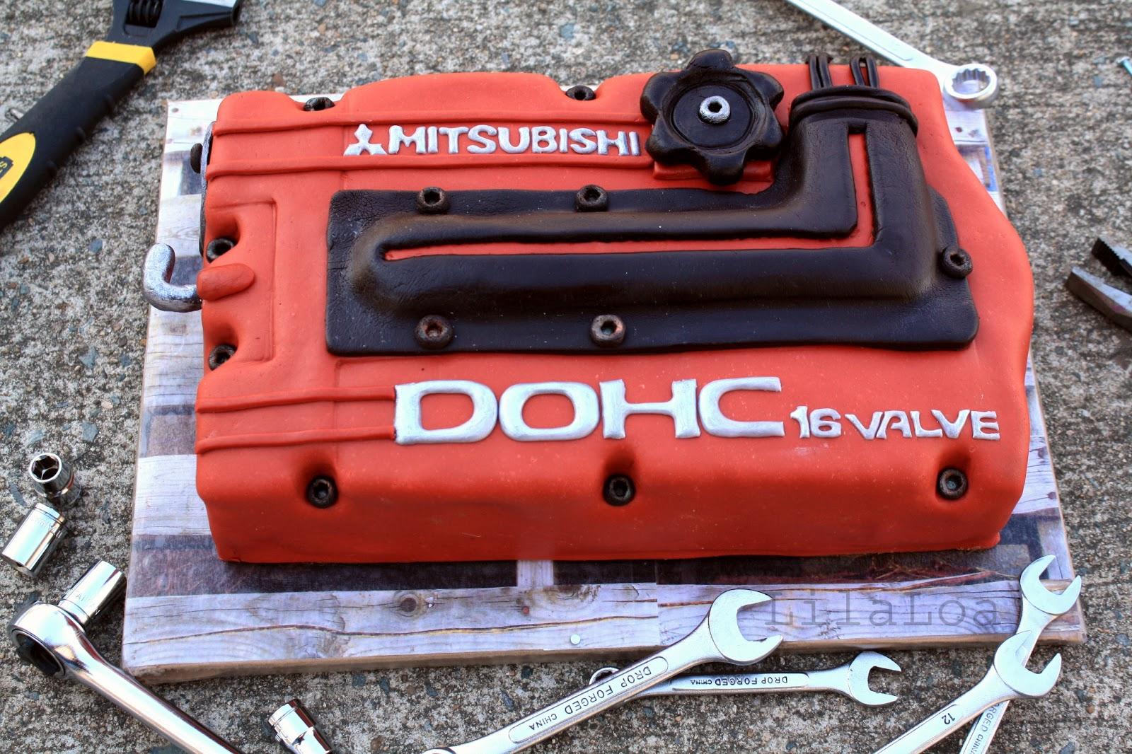 Car Engine Cake LilaLoa Car Engine Cake