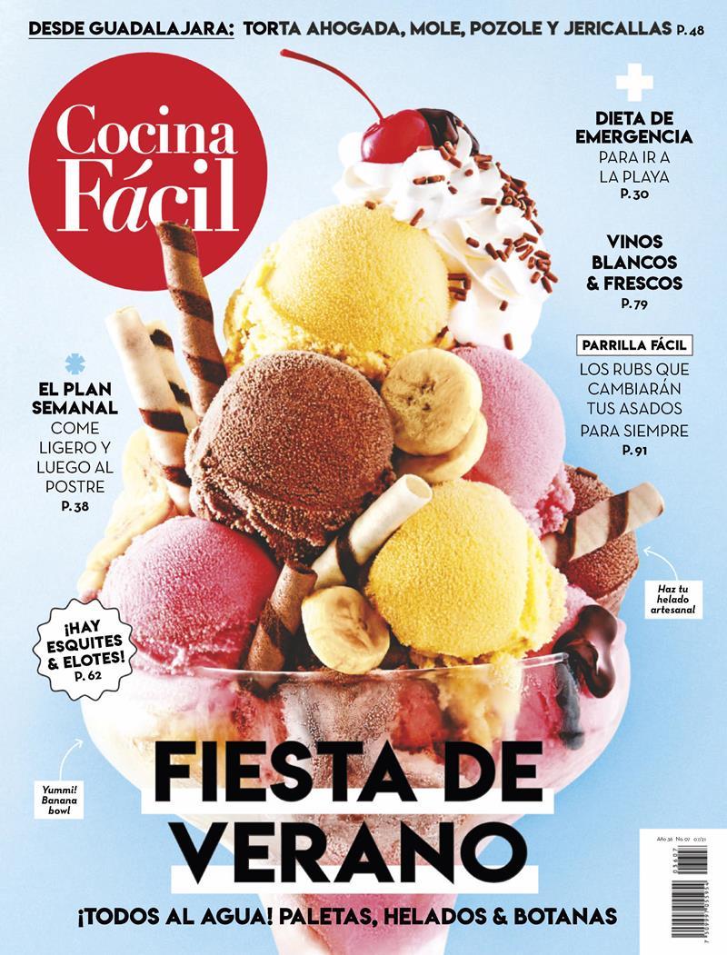 Cocina Fácil Nro. 07: Fiesta de verano – Julio 2021