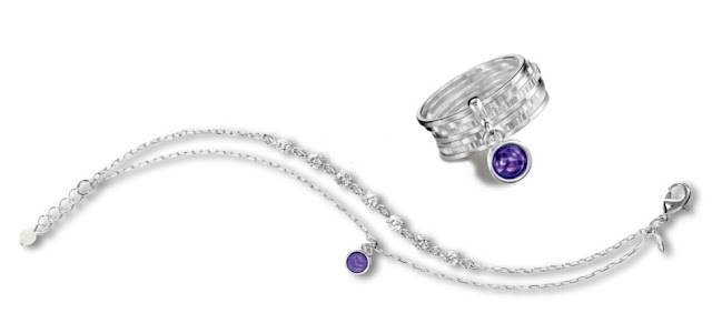 Support The Shoebox Project with the Avon Purple Peace Always With You collection!