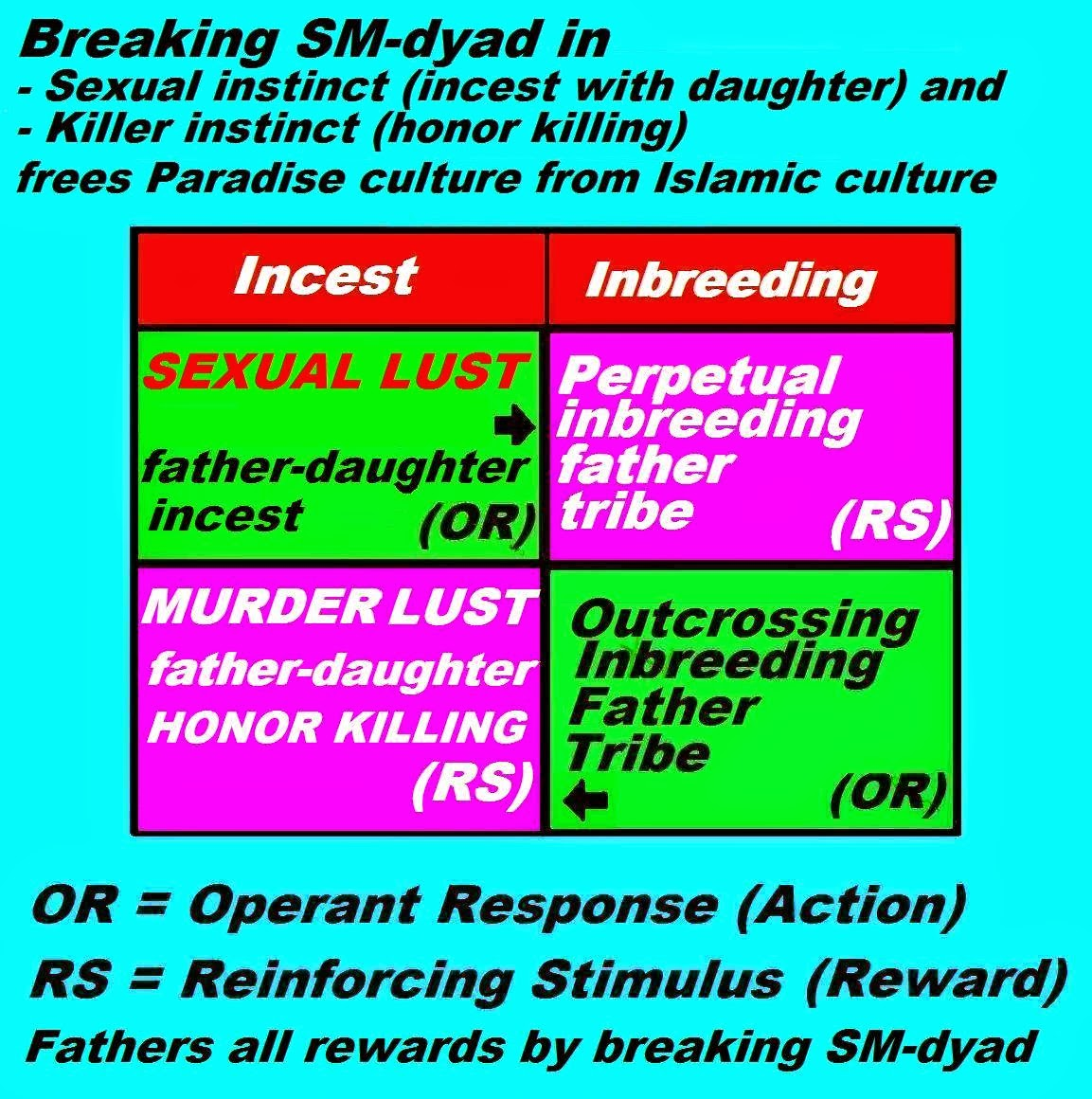 Sexualreligion march 2015 the honor killing itself must be seen as a form of sublimated orgasm wherein the disintegration of sadomasochism in its constituent parts gives the father falaconquin